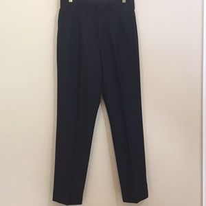 Brooks Brothers Charcoal Gray Pleated Pants